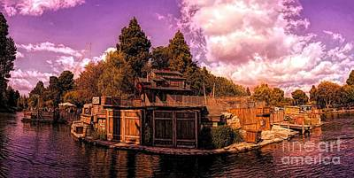 Photograph - Tom Sawyer's Island by Joe Lach