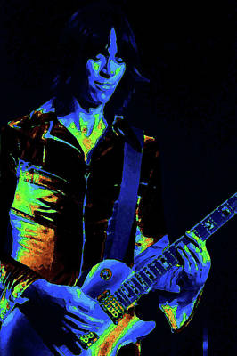 Photograph - Cosmic Guitar #2 by Ben Upham