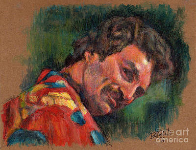 Pi Painting - Tom Selleck - Magnum P.i. by Bill Pruitt