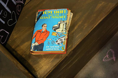 Appleton Photograph - Tom Swift And His Giant Magnet - Vintage Book by Mitch Spence