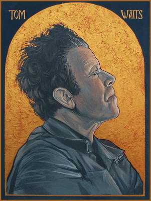 Tom Waits 2 Art Print