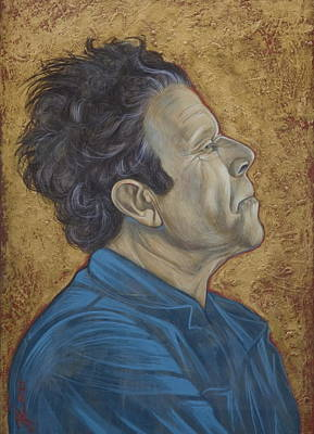 Painting - Tom Waits by Jovana Kolic