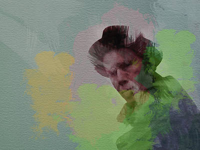 Tom Waits Art Print by Naxart Studio