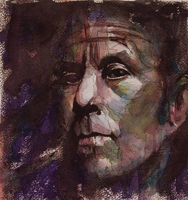 Painting - Tom Waits Art by Paul Lovering