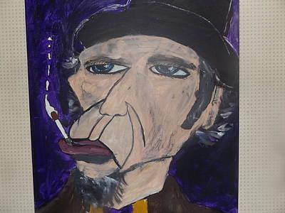 Tom Waits Original by Rob  Tudor