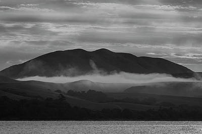Photograph - Tomales Bay IIi Bw by David Gordon