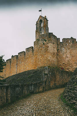 Photograph - Tomar Castle, Portugal by Alexandre Rotenberg