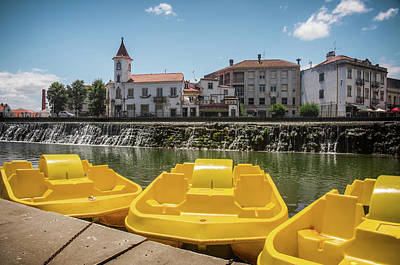 Photograph - Tomar Pedal Boats by Carlos Caetano