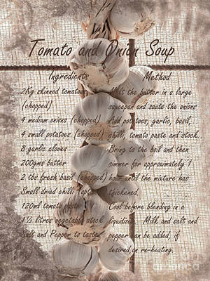 Photograph - Tomato And Onion Soup by Elaine Teague
