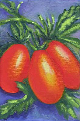 Painting - Tomato Seed Packet by Vicki VanDeBerghe