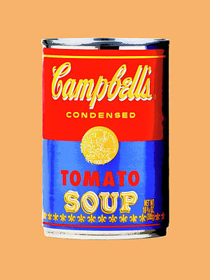 Photograph - Tomato Soup - Blue And Red by Dominic Piperata