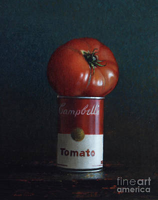 Tomato Soup Art Print by Larry Preston