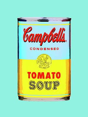 Photograph - Tomato Soup - Yellow And Blue by Dominic Piperata
