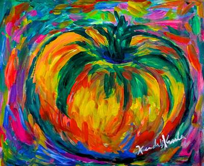 Painting - Tomato Spin by Kendall Kessler