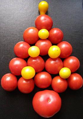 Tomatoe Tree Art Print by Jeanette Oberholtzer