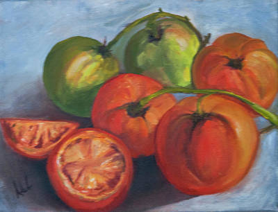 Painting - Tomatoes by Debbie Frame Weibler