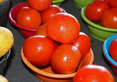 Photograph - Tomatoes I by Michiale Schneider