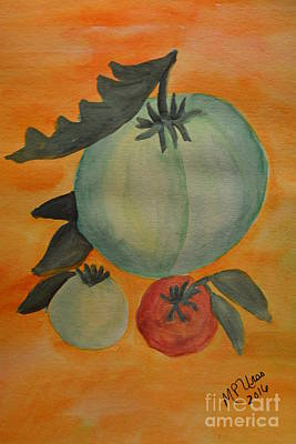 Painting - Tomatoes by Maria Urso