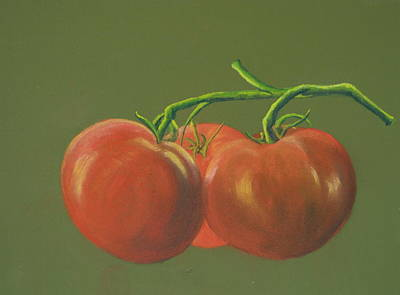Painting - Tomatoes by Phil Davis