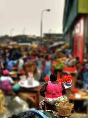 Photograph - Tomatoes To Makola by Wayne King