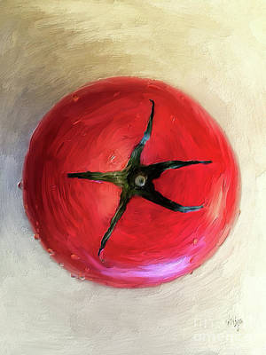 Digital Art - Tomato by Lois Bryan