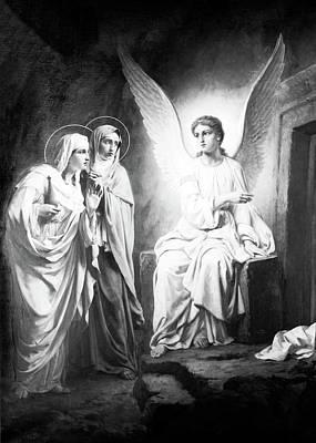Photograph - Tomb Angel 1914 by Munir Alawi