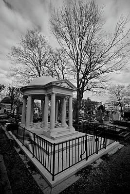 Photograph - Tomb At Pere Lachaise Cemetery by Matt MacMillan
