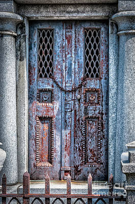 Photograph - Tomb Doorway - New Orleans by Kathleen K Parker
