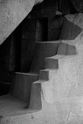 Photograph - The Royal Tomb At Machu Picchu by Lucinda Walter