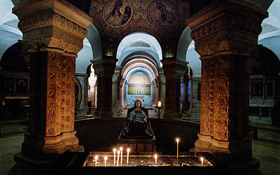 Photograph - Tomb Of The Virgin Mary, Jerusalem by Alexandre Rotenberg