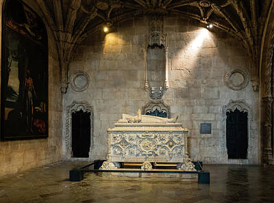 Portugal Photograph - Tomb Of Vasco De Gama by Steven Richman