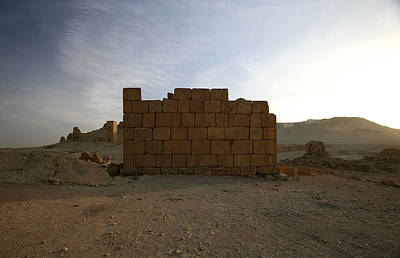 Photograph - Tomb Wall by Marcus Best