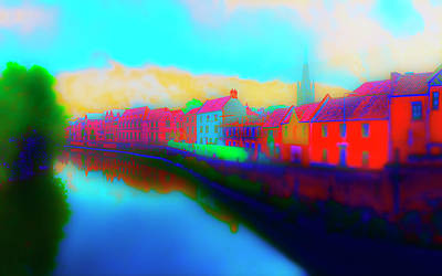 Photograph - Tombland Canal by Jan W Faul