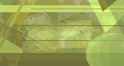 Tomboy Digital Art - Tomboy Crusader 2 by Tate Devros