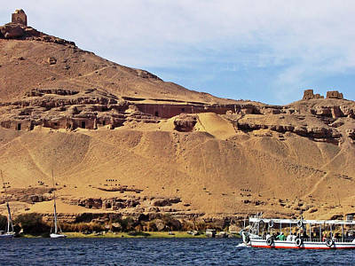 Photograph - Tombs Of The Nobles Aswan by Debbie Oppermann