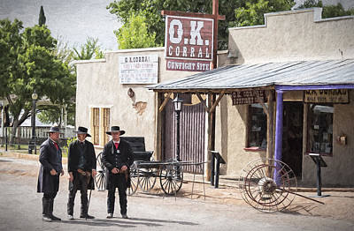 Tombstone Arizona Art Print