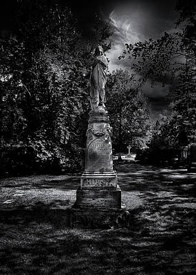 Photograph - Tombstone Shadow No 2 by Brian Carson
