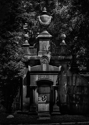 Photograph - Tombstone Shadow No 28 by Brian Carson