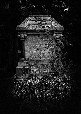 Photograph - Tombstone Shadow No 30 by Brian Carson