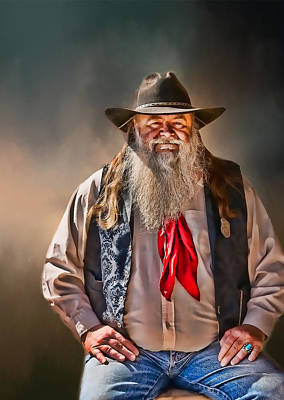 Photograph - Tombstone Sheriff  by Maria Coulson