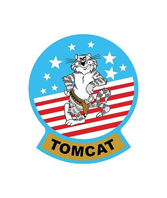 Digital Art - Tomcat by The Grumman Store