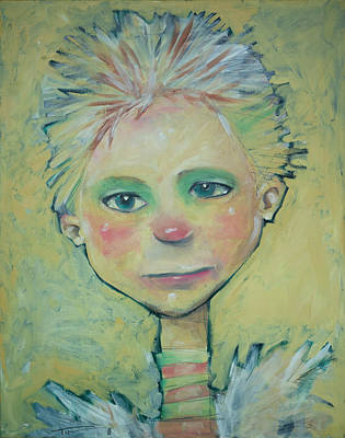 Whimsical Painting - Tomi by Tim Nyberg