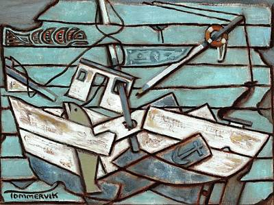 Painting - Tommervik Commercial Fishing Boat by Tommervik