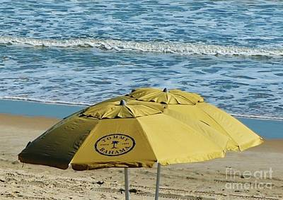 Photograph - Tommy Bahama Beach Umbrella by Bob Sample