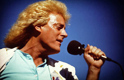 Photograph - Tommy James Sings by Mike Martin