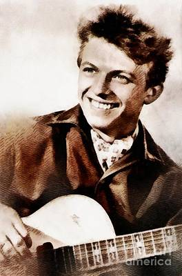 Tommy Steele, British Actor And Singer Art Print