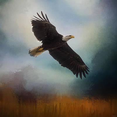 Painting - Tomorrow - Eagle Art by Jordan Blackstone