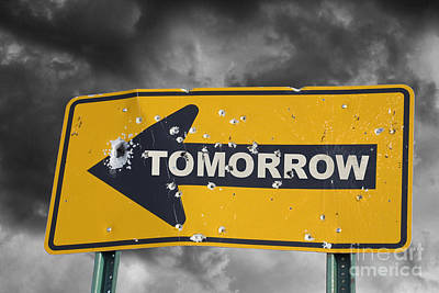 Tomorrow Art Print