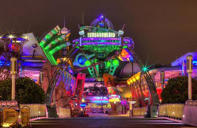 Magic Kingdom Photograph - Tomorrowland by Rachel Crozier