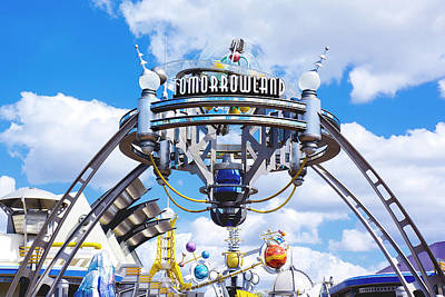 Photograph - Tomorrowland by Greg Fortier